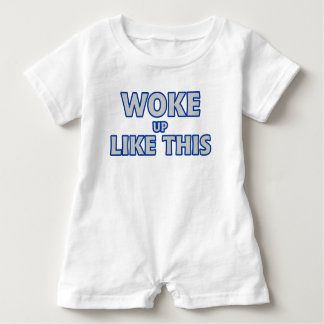wachte so auf baby strampler