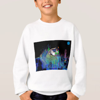 Wachteln nachts sweatshirt