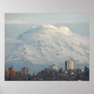 Wächter der Mount Rainier Poster