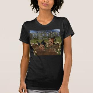 Wächter des Glaube Avalon Kriegers schrullig T-Shirts