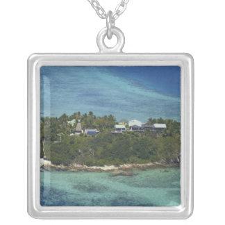 Wadigi Insel, Mamanuca Inseln, Fidschi 2 Versilberte Kette