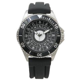 Wadokei Japaner-Uhr-Weiß Uhr
