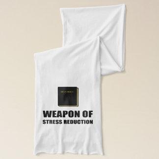 Waffe der Druck-Reduzierungs-Bibel Schal