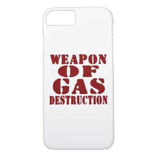 Waffe der Gas-Zerstörung iPhone 8/7 Hülle