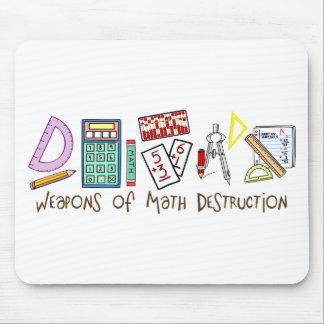Waffen der Mathe-Zerstörung Mousepads
