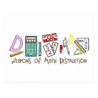 Waffen der Mathe-Zerstörung Postkarte
