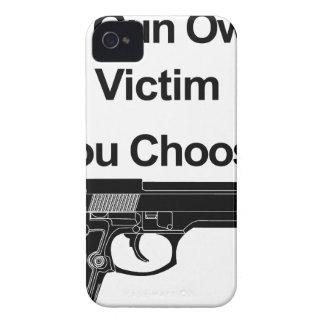 Waffenbesitzeropfer, das Sie wählen Case-Mate iPhone 4 Hülle