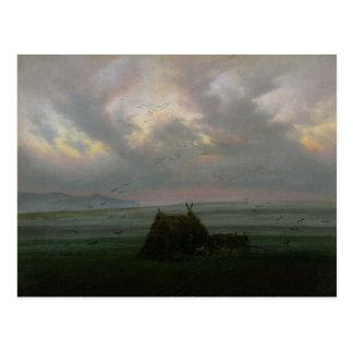 Waft vom Nebel, C. 1818-20 Postkarte