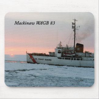 WAGB 83 Mackinaw Sonnenuntergang mousepad