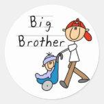 Wagen-Bruder-T-Shirts und Geschenke Runde Aufkleber