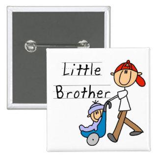 Wagen-kleiner Bruder-T-Shirts und Geschenke Quadratischer Button 5,1 Cm