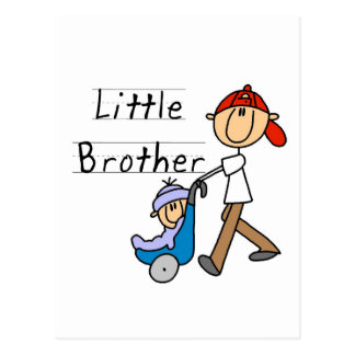 Wagen-kleiner Bruder-T-Shirts und Geschenke Postkarte