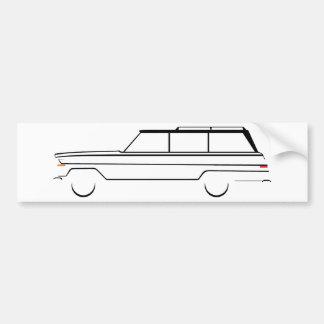 Wagoneer Autoaufkleber