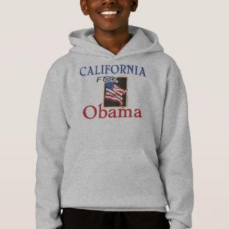 Wahl Kalifornien für Obama Hoodie