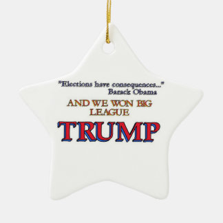 Wahl-Trumpf Keramik Ornament
