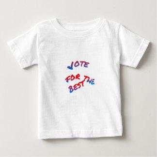 Wahlen, Abstimmung für das Beste Baby T-shirt