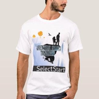 Wählen Sie Anfangs-EP-Shirt vor T-Shirt