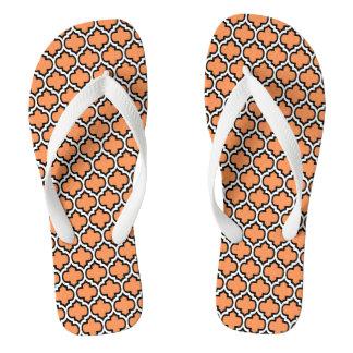 Wählen Sie das FarbeQuatrefoil Muster umdrehen Flip Flops