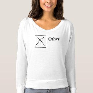 Wählen Sie den korrekten Kasten vor T-shirt