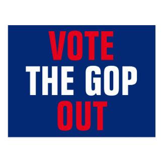 Wählen Sie die Wahl 2018 GOP heraus Postkarte
