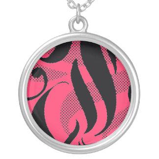 Wählen Sie eine Farbhalskette! Aloha Strudelentwur Personalisierte Halskette