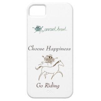 Wählen Sie Glück - gehen Sie zu reiten Schutzhülle Fürs iPhone 5