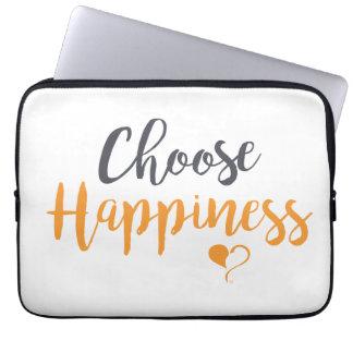 Wählen Sie Glück-Laptop-Hülse Laptop Sleeve