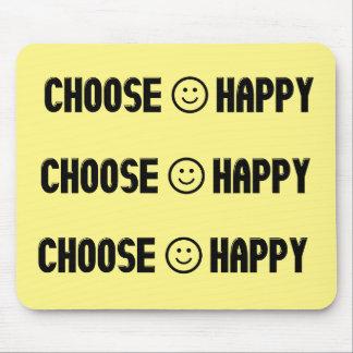 Wählen Sie glückliche Mausunterlage Mauspads
