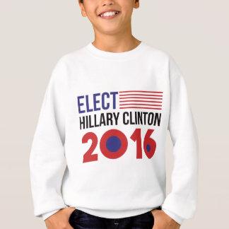 Wählen Sie Hillary Clinton Flagge Sweatshirt