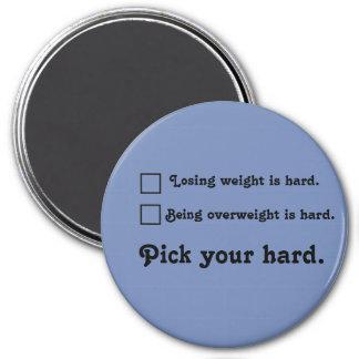 Wählen Sie Ihre harte Runder Magnet 7,6 Cm