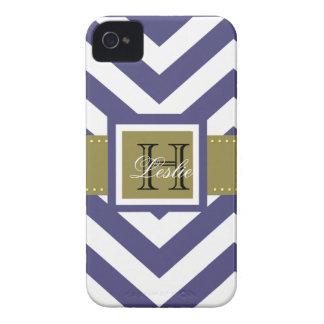 Wählen Sie Ihre kundenspezifische Farbe, Monogramm Case-Mate iPhone 4 Hülle