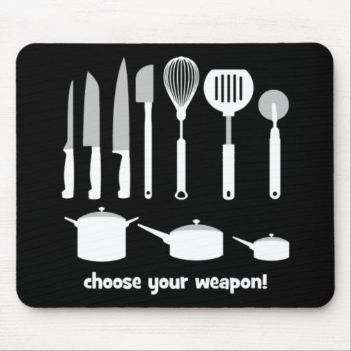 wählen Sie Ihre Waffe Mousepads