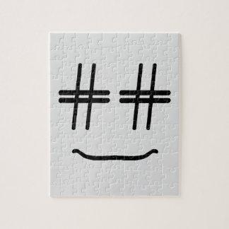WÄHLEN Sie JEDE MÖGLICHE FARBE # Hashtag Smiley, Puzzle