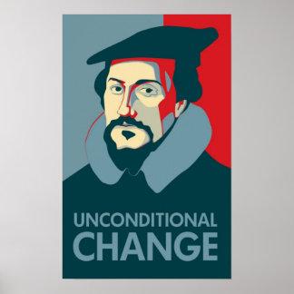 Wählen Sie Johannes Calvin Plakat