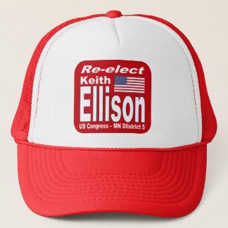 Wählen Sie Kongreß Keith Ellison Minnesota 2012 Truckerkappe