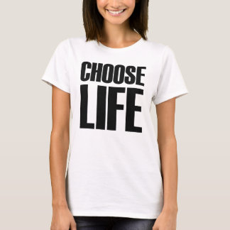 Wählen Sie Leben-Jahr-T - Shirt