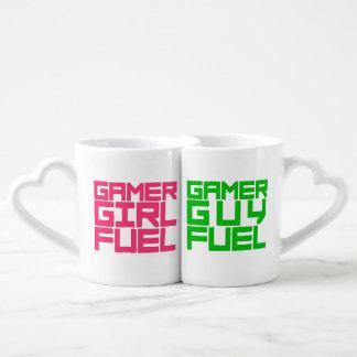 Wählen Sie Mädchenoder Typgamer-Brennstoff Liebestassen