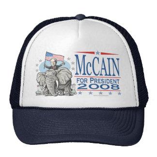 Wählen Sie McCain GOP-Elefanten 2008 Caps