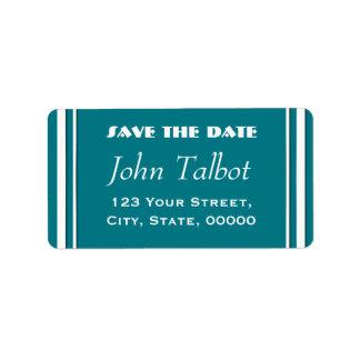 Wählen Sie Save the Date Farbadressen-Etikett Adress Aufkleber