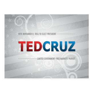 Wählen Sie Ted Cruz 2016 Postkarte