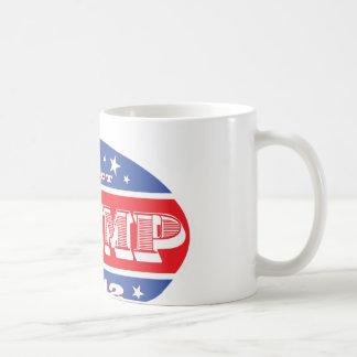 Wählen Sie Trumpf für Präsidenten 2012 Kaffeetasse