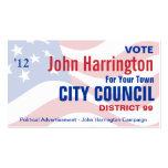 Wahlkampf - Stadtrat-Visitenkarte