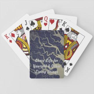 Wählte das Leben für selbst u. andere Lebewesen Spielkarten