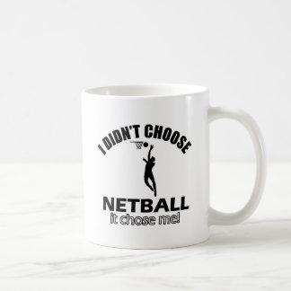 Wählte nicht Netball Kaffeetasse
