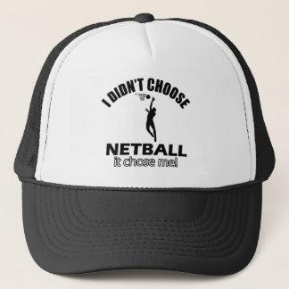 Wählte nicht Netball Truckerkappe