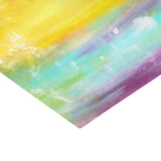 Wahre Farbabstrakte Kunst Seidenpapier