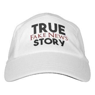 Wahre Geschichten-Fake-Nachrichten Headsweats Kappe