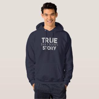 Wahre Geschichten-Fake-Nachrichten Hoodie