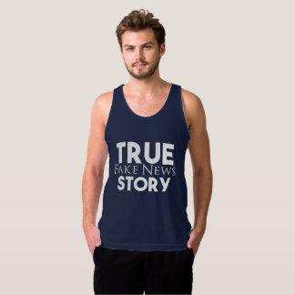 Wahre Geschichten-Fake-Nachrichten Tank Top