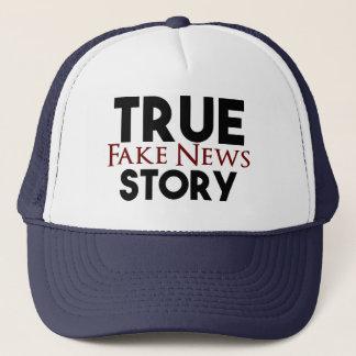 Wahre Geschichten-Fake-Nachrichten Truckerkappe
